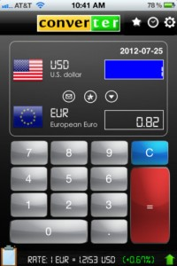 world currency converter for iphone