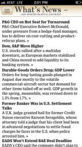 wsj for iphone
